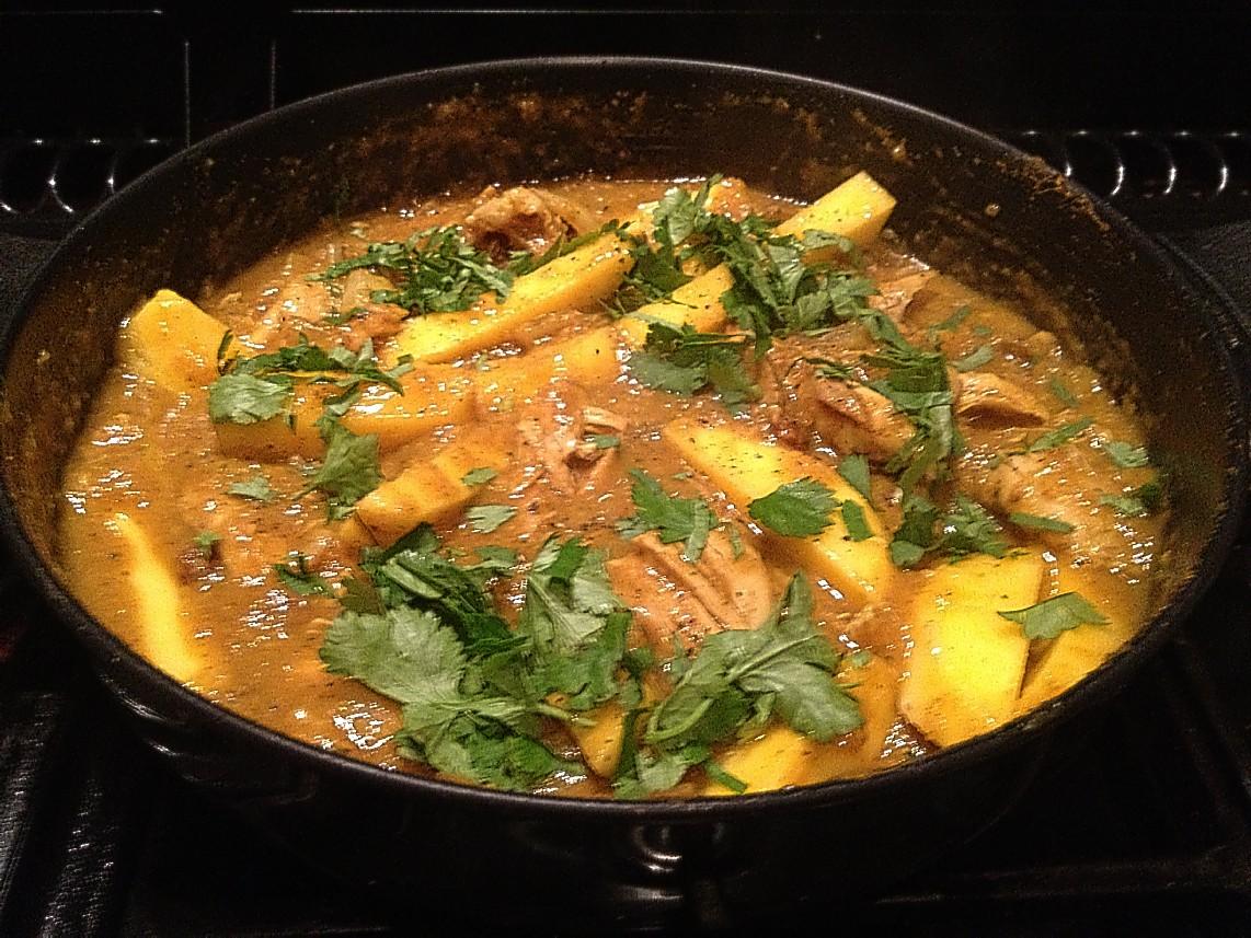 chicken mango curry with a simple mango curry sweet curried mango ...