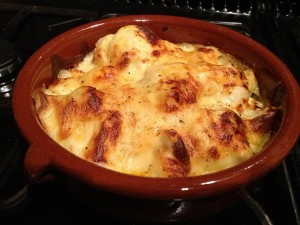 Cauliflower Cheese 1
