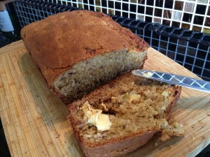 Banana Maple Tea Bread
