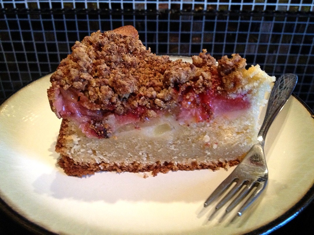 Strawberry And Apple Crumble Cake Jackie S Kitchen
