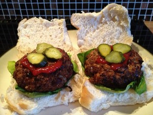 Cheese and Chilli Burgers